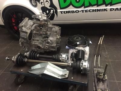 VR6 Turbo 6-Gang Getriebe Umbau Set (DRP 02m 4 Motion )