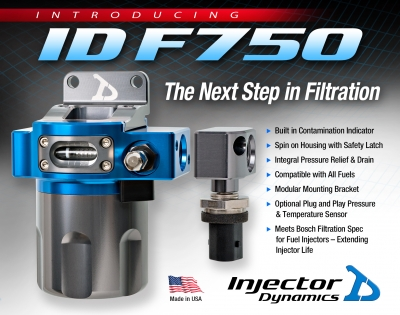 Injector Dynamics F750 Fuel Filter for Extreme Performance