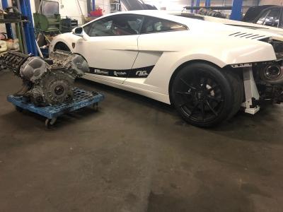 Lamborghini Gallardo V10 Motorüberholung