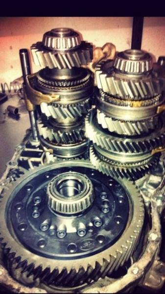 Verstärkter Radsatz 02M 02Q MK4-MK7 Dog Ring 3-6