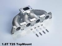 T25 K16 Topmount Gusskrümmer für 1.8T aus Ni-Resist D5S