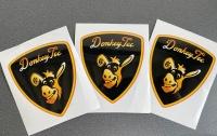 Donkey Tec Aufkleber im Lamborghini Style