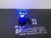 Donkey Tec 3D LED Lampe